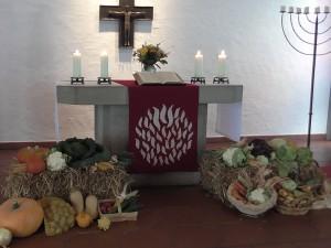 3. Oktober: Erntedankfest in der Versöhnungskirche